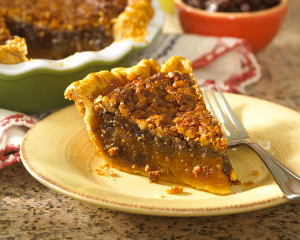 Chocolate Raisin Walnut Pie