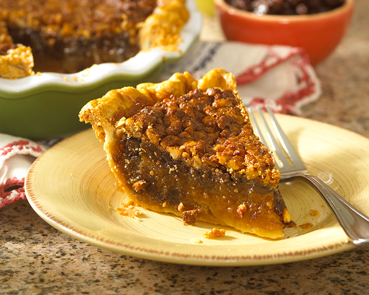 Chocolate Raisin Walnut Pie