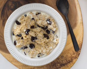 Creamy Raisin Oatmeal